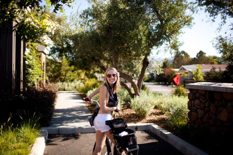biking napa