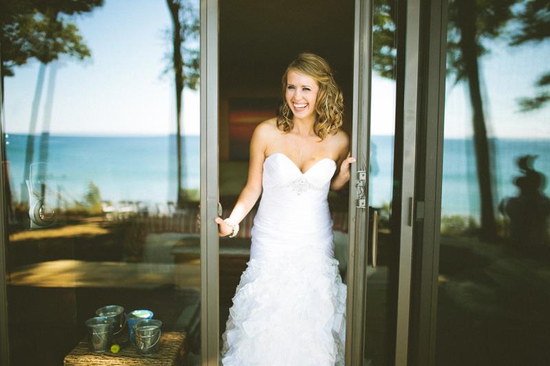 lake front wedding michigan