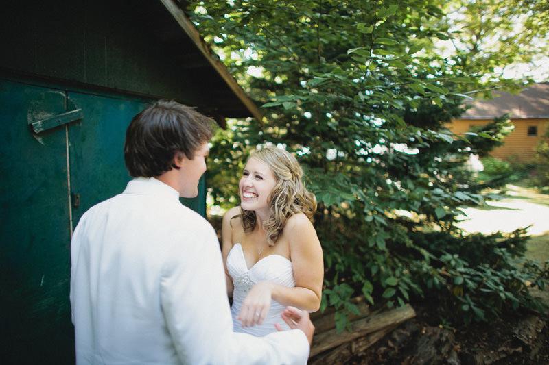 giddy bride