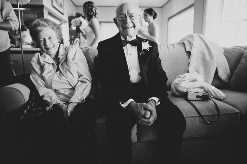 grandfather in tux