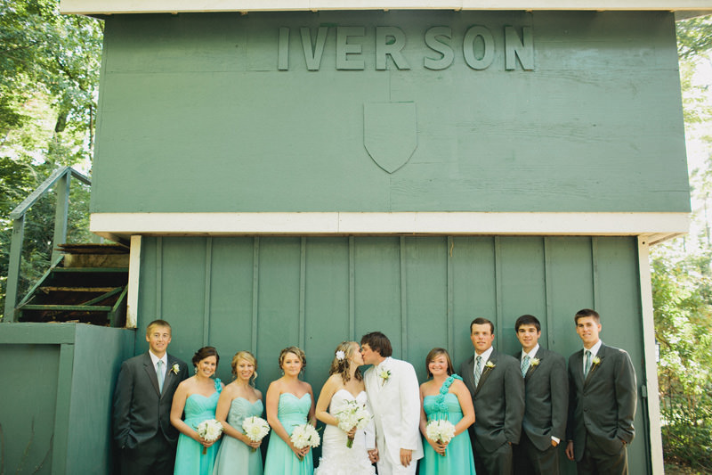 sea glass turquoise wedding ideas bridal party