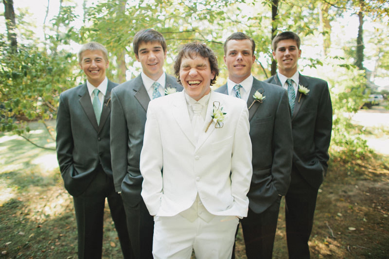 sea glass groomsmen ideas