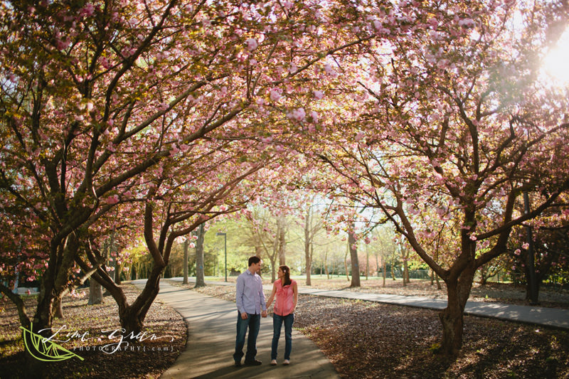 spring engagement ideas