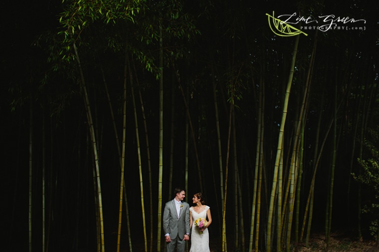duke gardens wedding photos bamboo