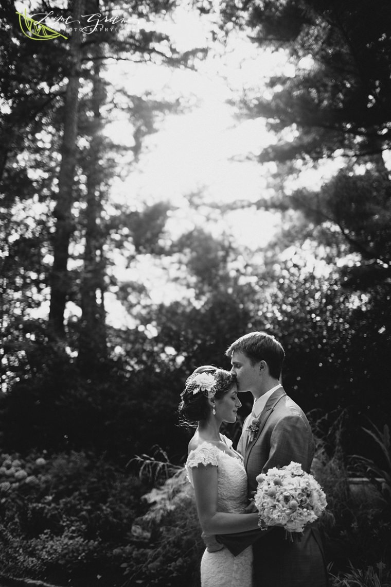 duke gardens romantic wedding photography