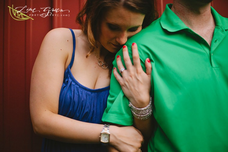 maryland farm engagement photos
