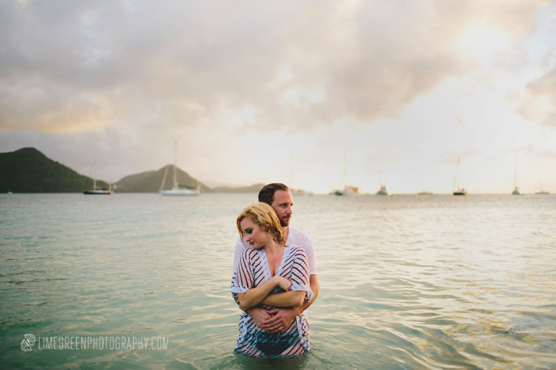 st. lucia wedding images