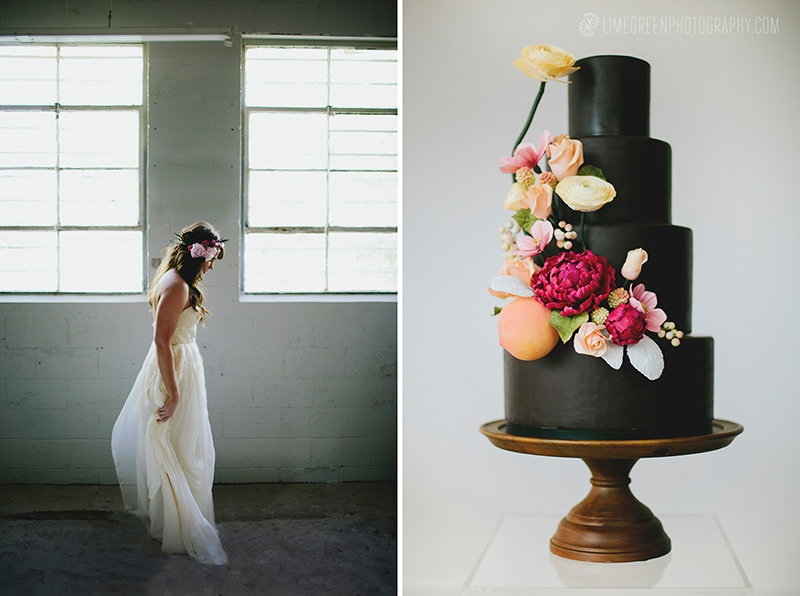 black and berry colors wedding