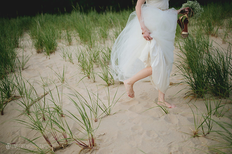 michigan beach wedding