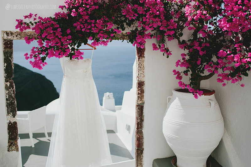 oia wedding photos