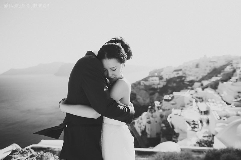 oia santorini wedding photographers