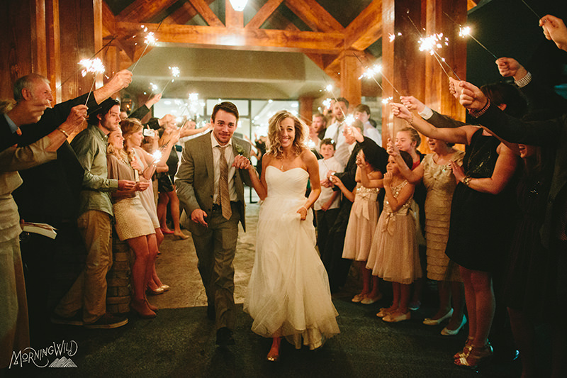 sparkler weddings