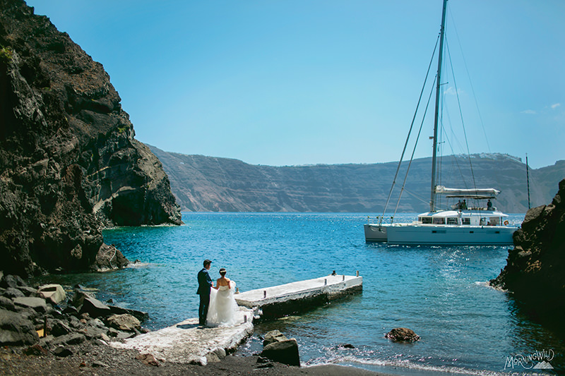 santorini greece weddings