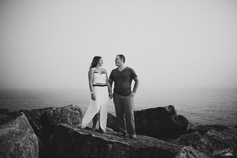 muskegon mi engagement photos