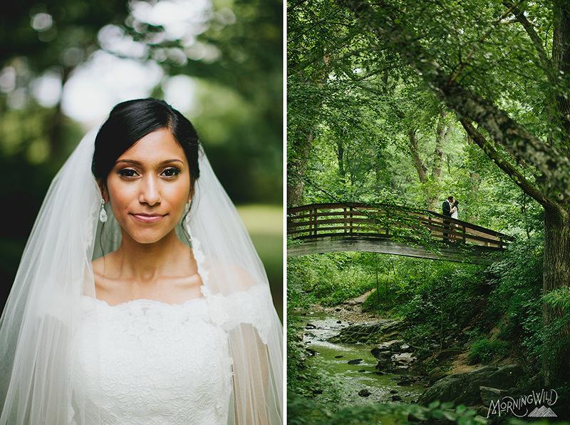 asheville botanical gardens elopement