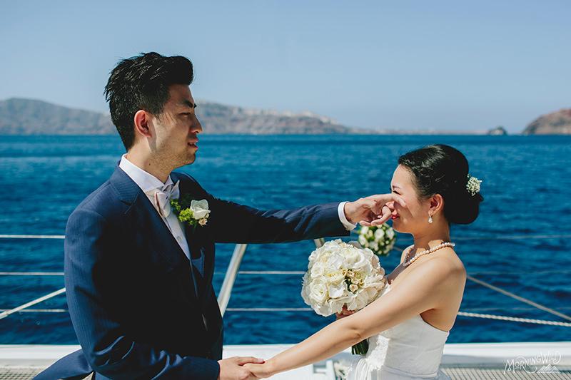 santorini greece weddings