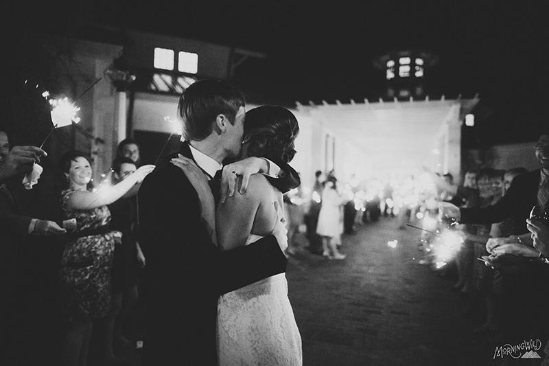 sparkler exit weddings