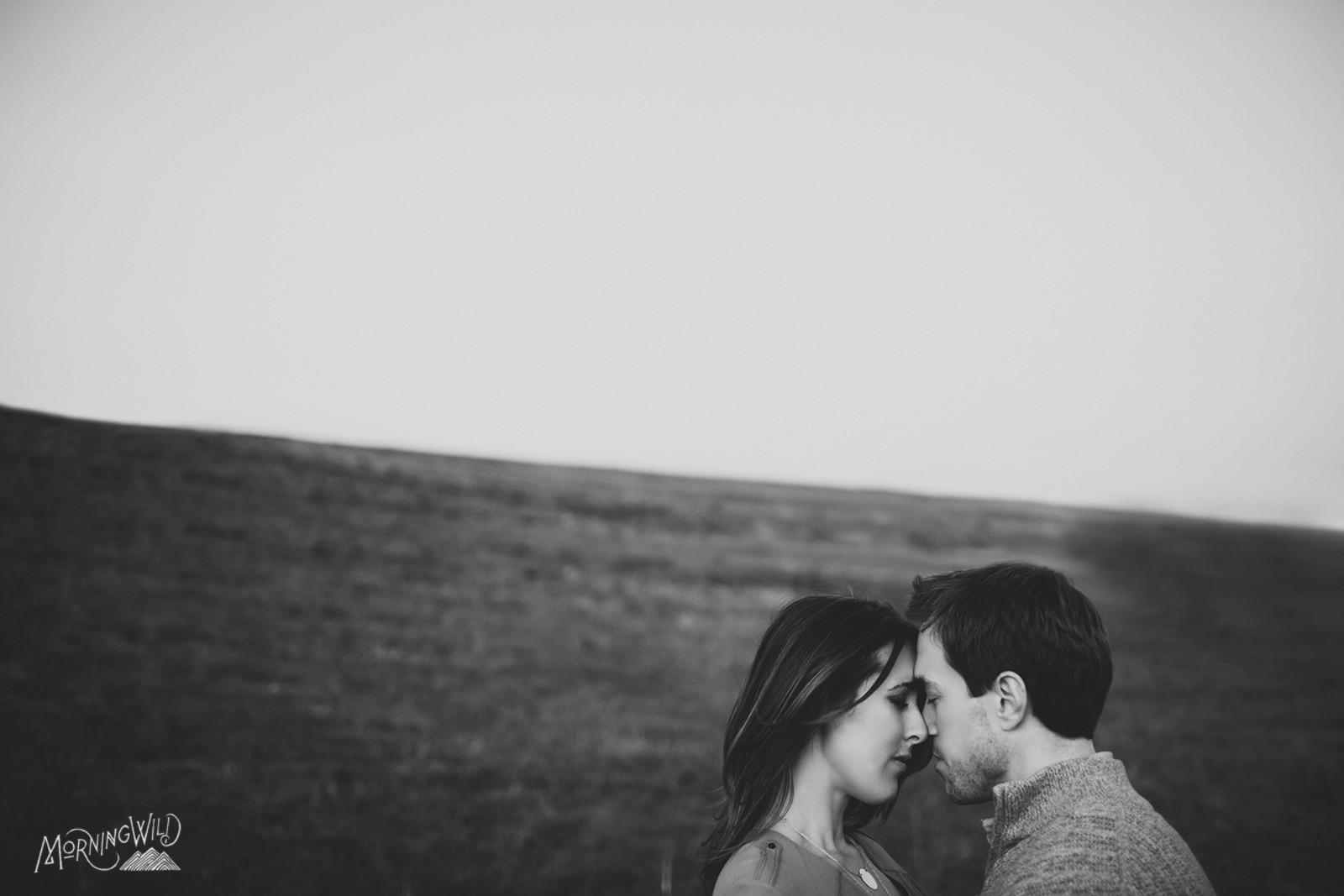the dump raleigh engagement photos