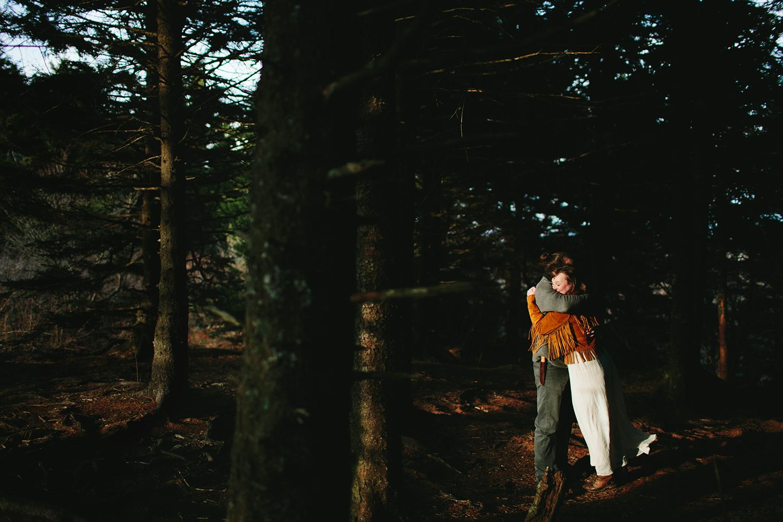hippie wedding photos