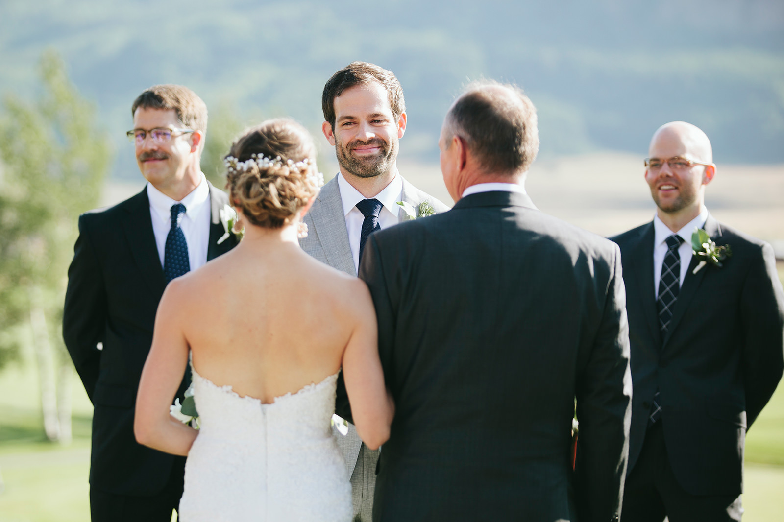 the inn at crested butte wedding photos