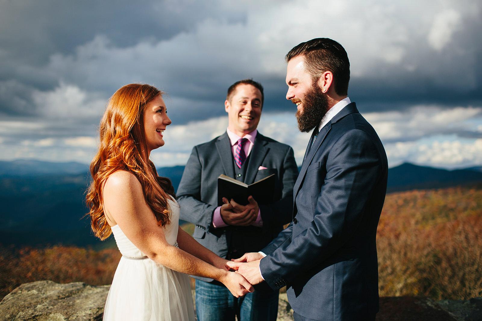 fall elopement asheville