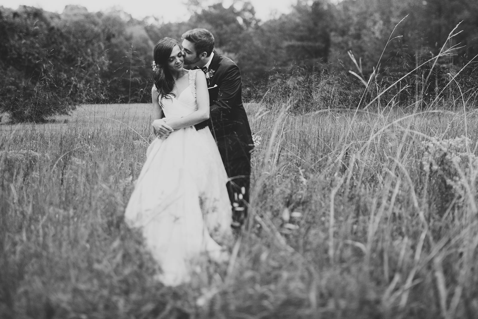 durham wedding in a field
