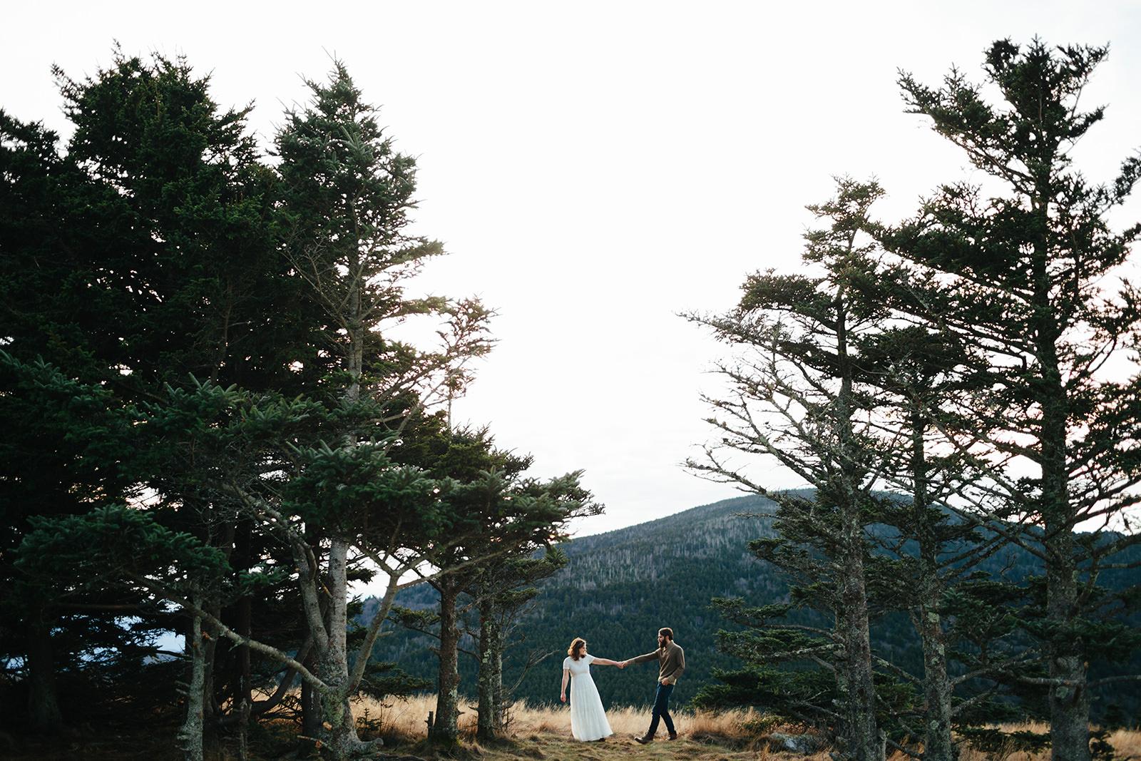 elopements roan mountain