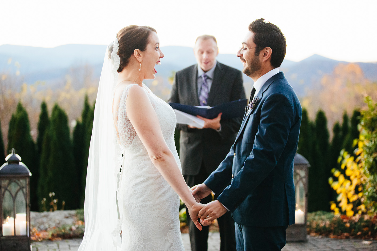 mountain views wedding venues nc