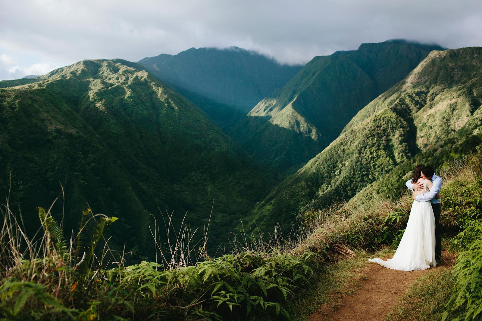 morningwild maui wedding photography