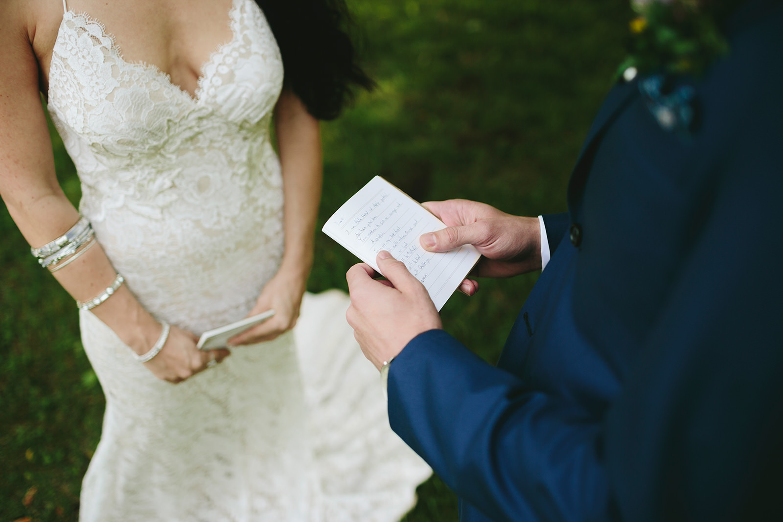 exchanging private vows