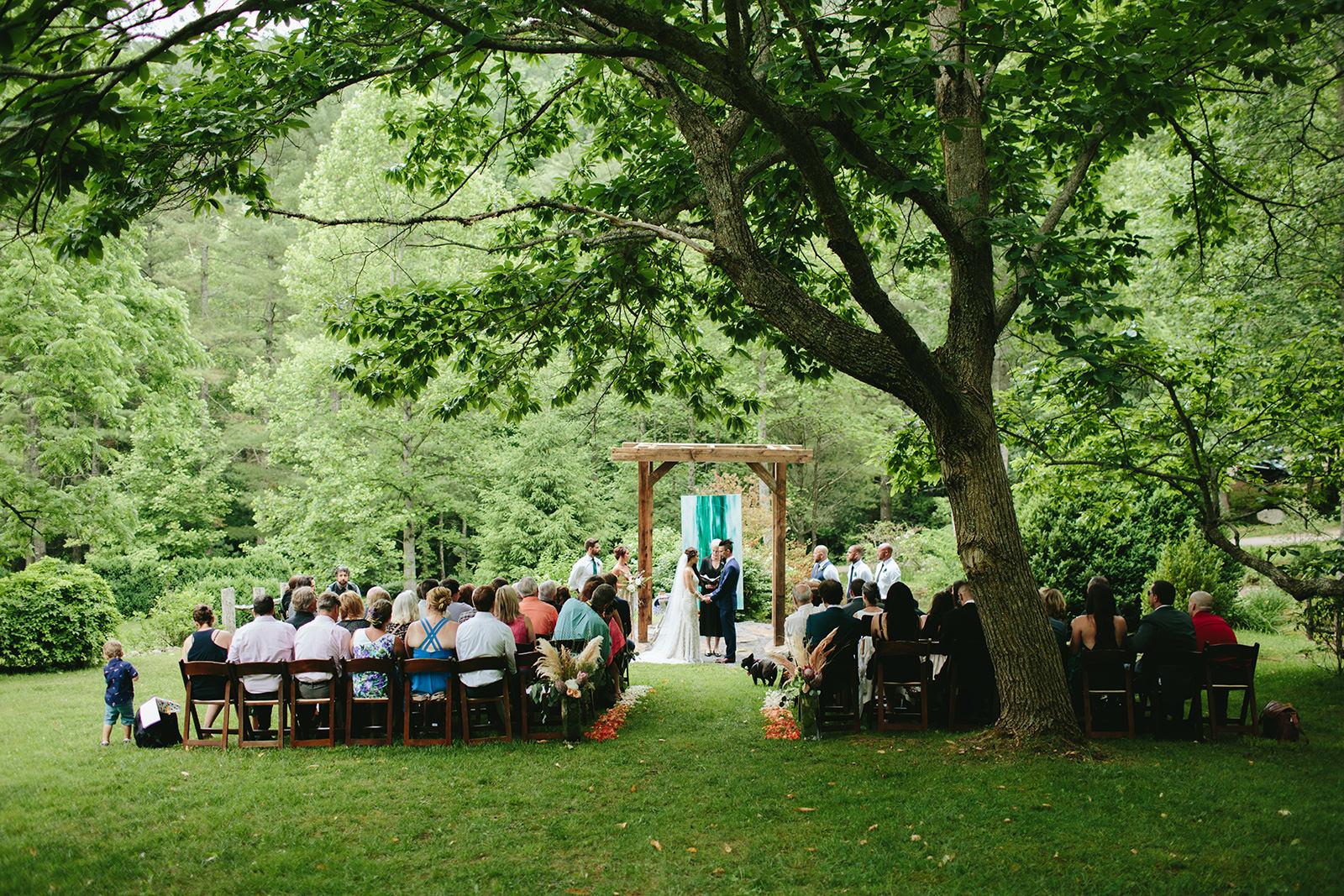 ceremonies vineyards at bettys creek