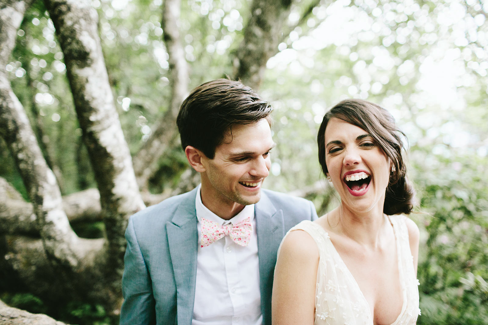 wooded elopements asheville