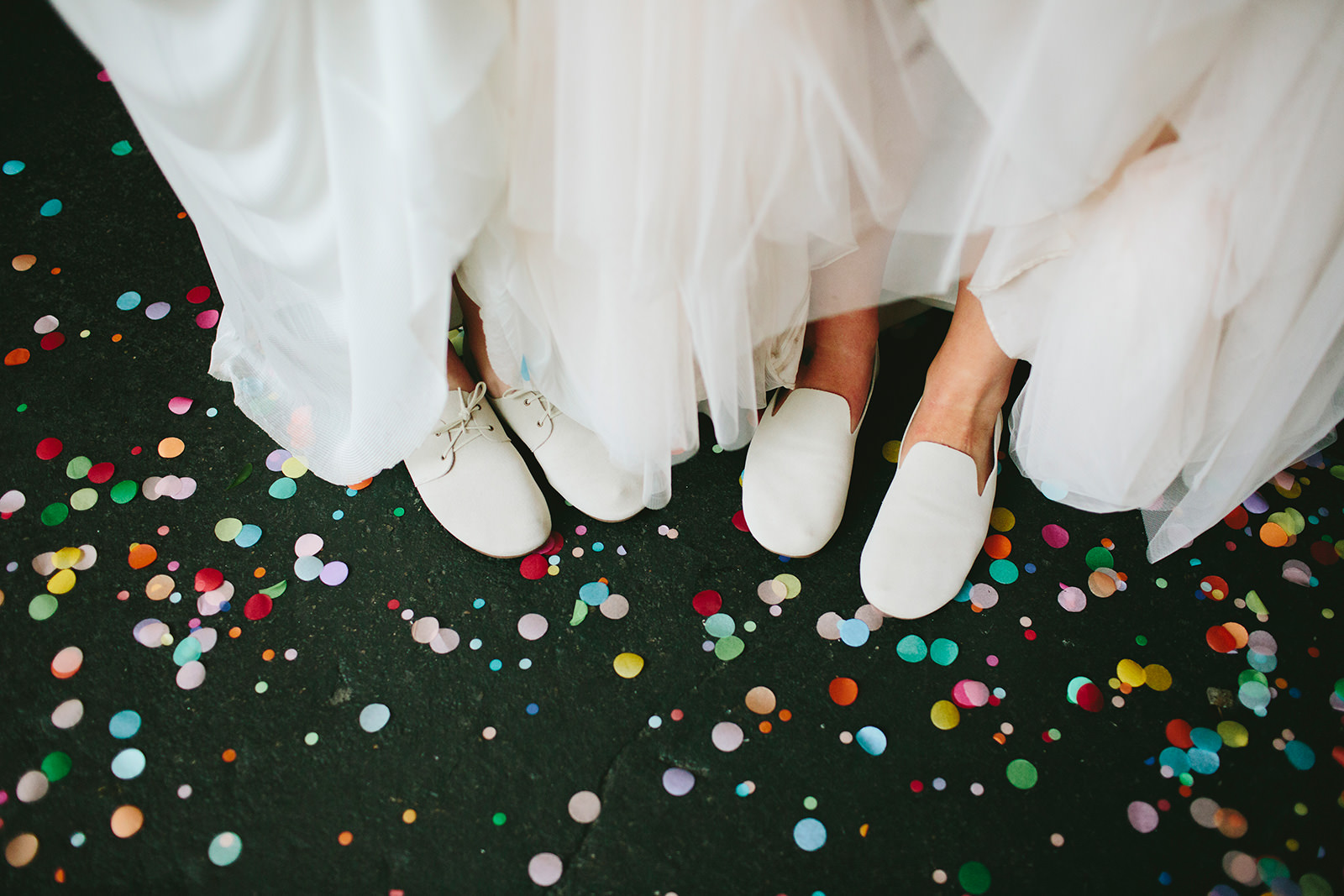 confetti wedding ideas