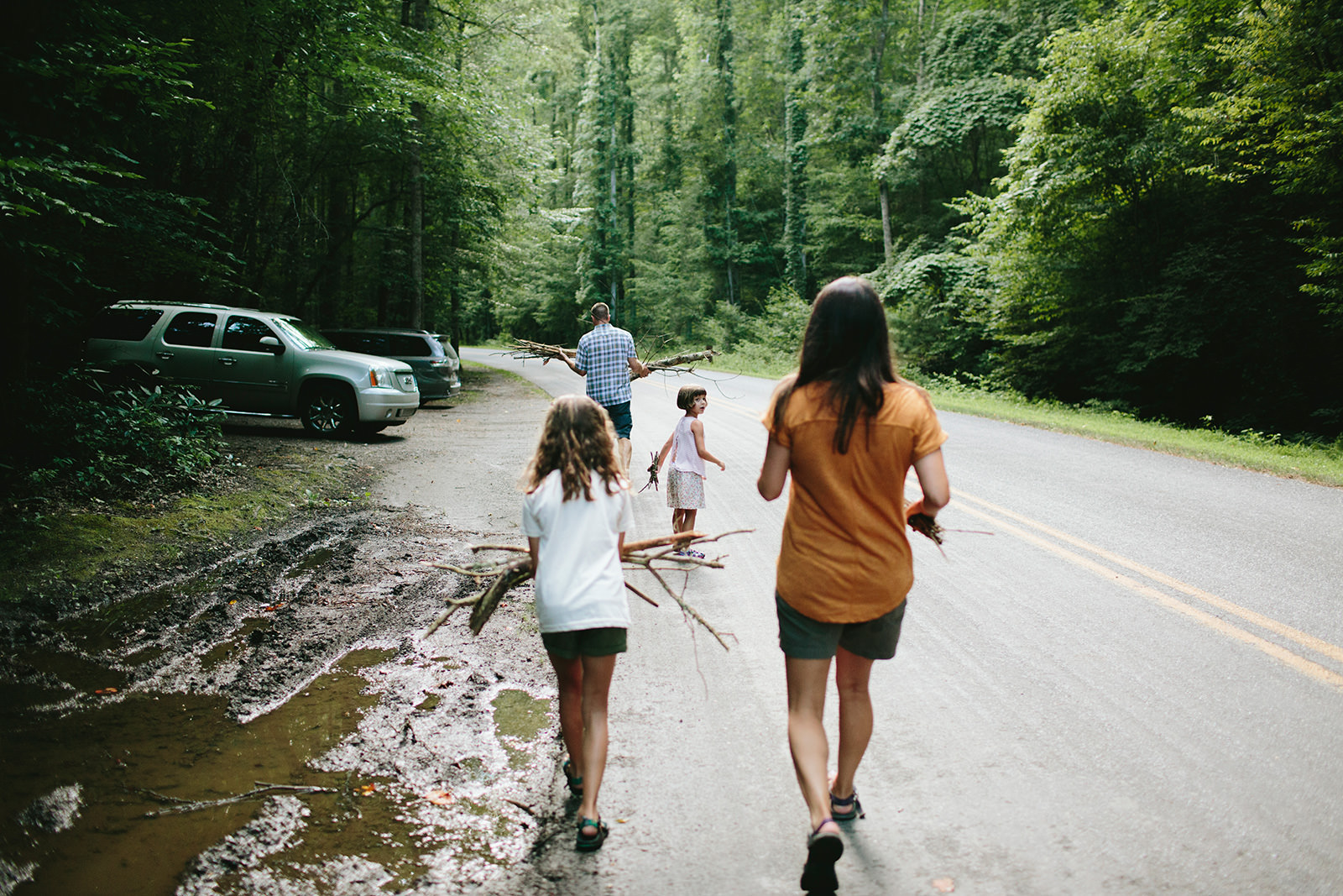 real life family sessions asheville nc