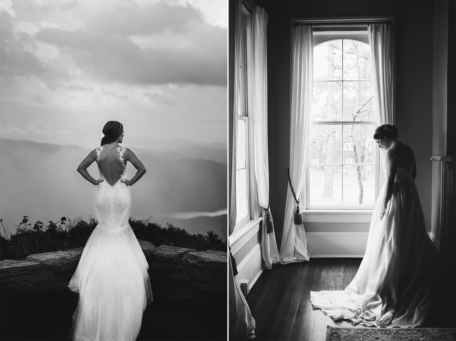 west asheville wedding photos