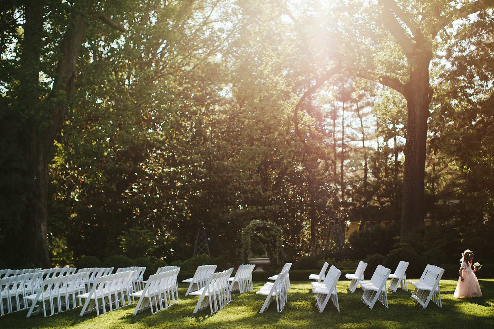 duke mansion backyard wedding