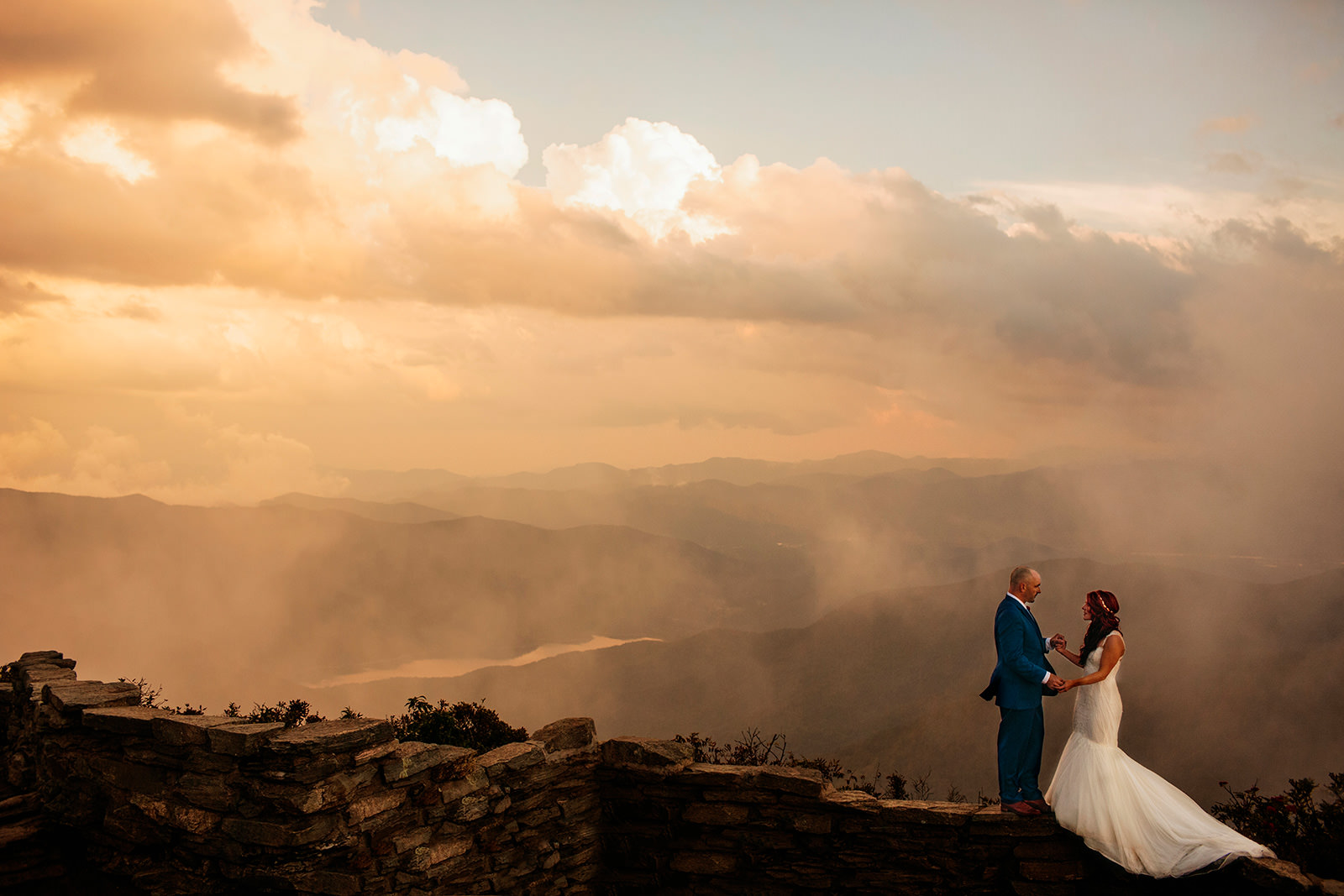 epic craggy elopement