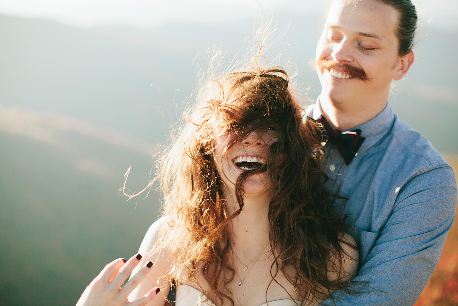elopement venues with a mountain view asheville