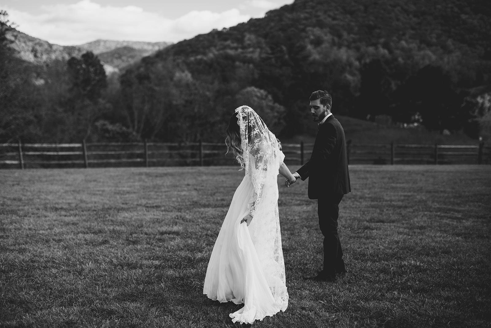 claxton farm boho wedding