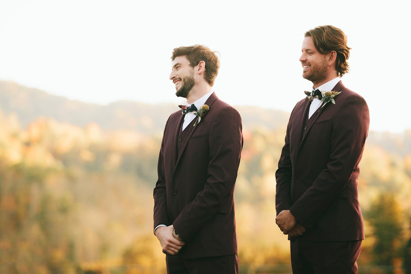 claxton farms fall wedding