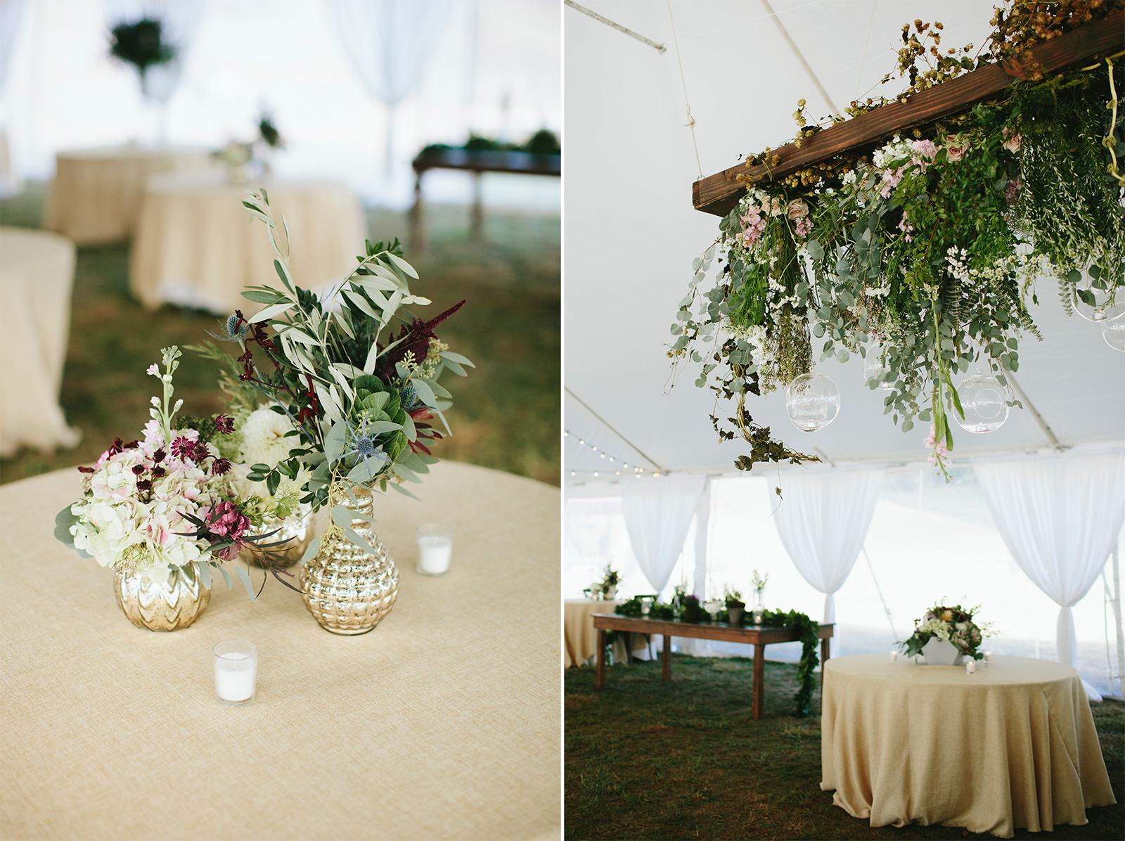 botanical wedding floral photos