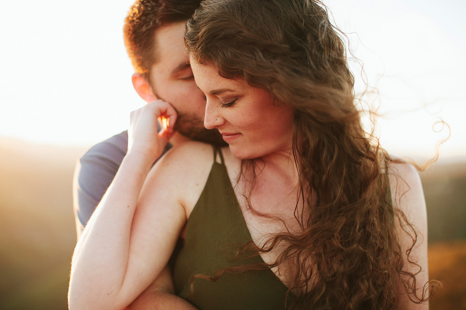 engagement photos at hawksbill