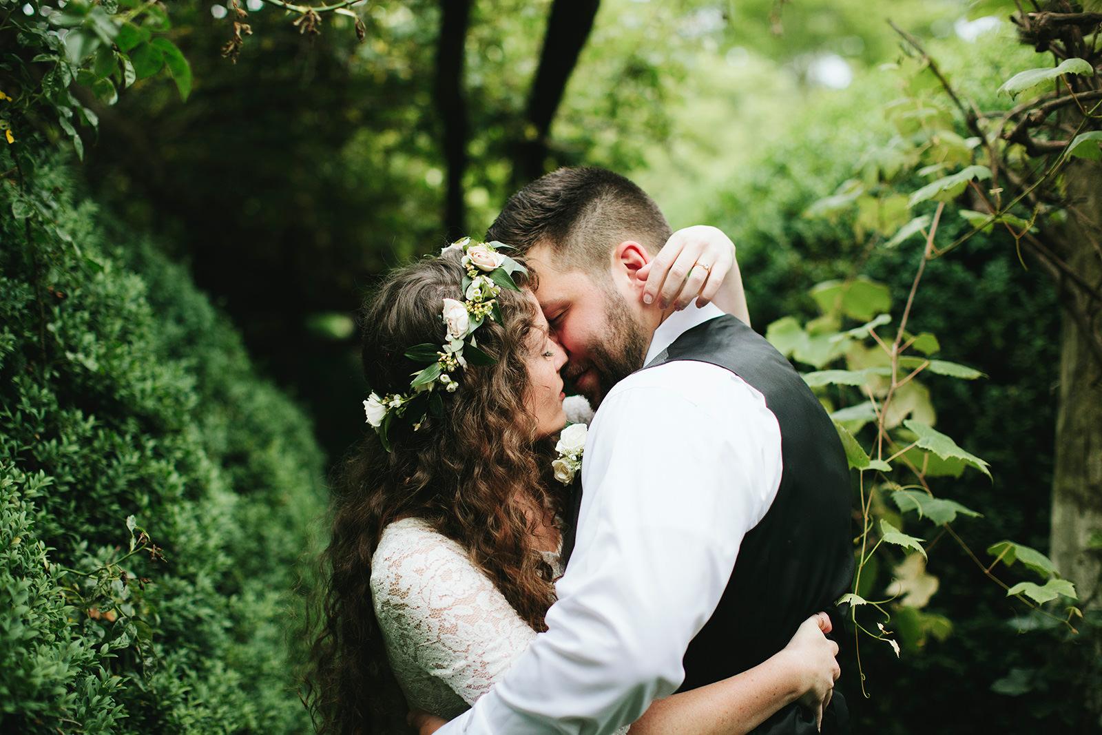 garden wedding asheville