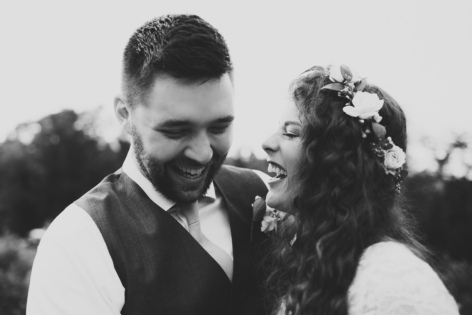 earthy wedding asheville