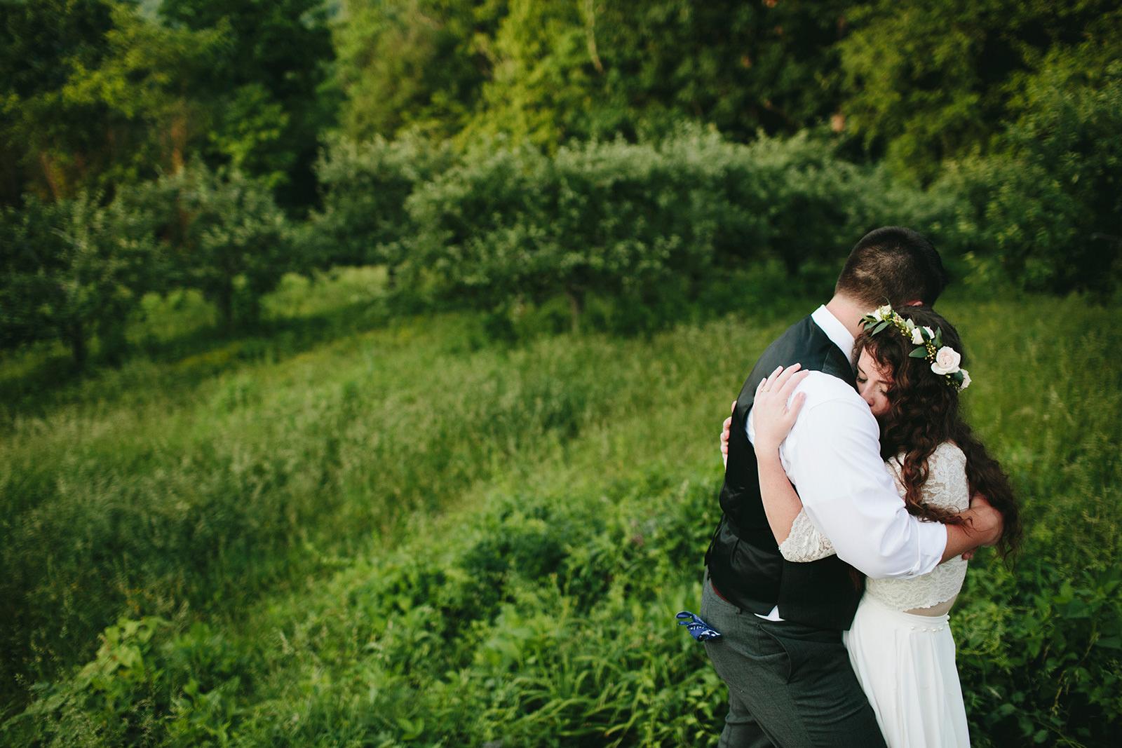 natural wedding asheville
