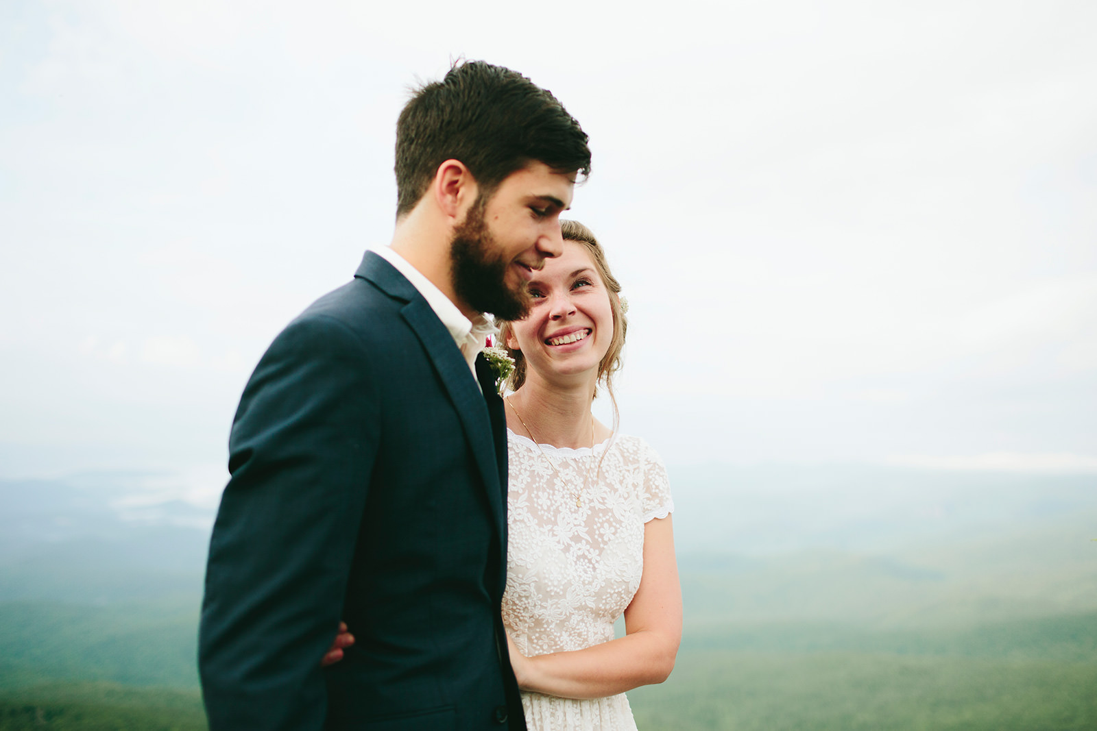 elopements in blue ridge mountains