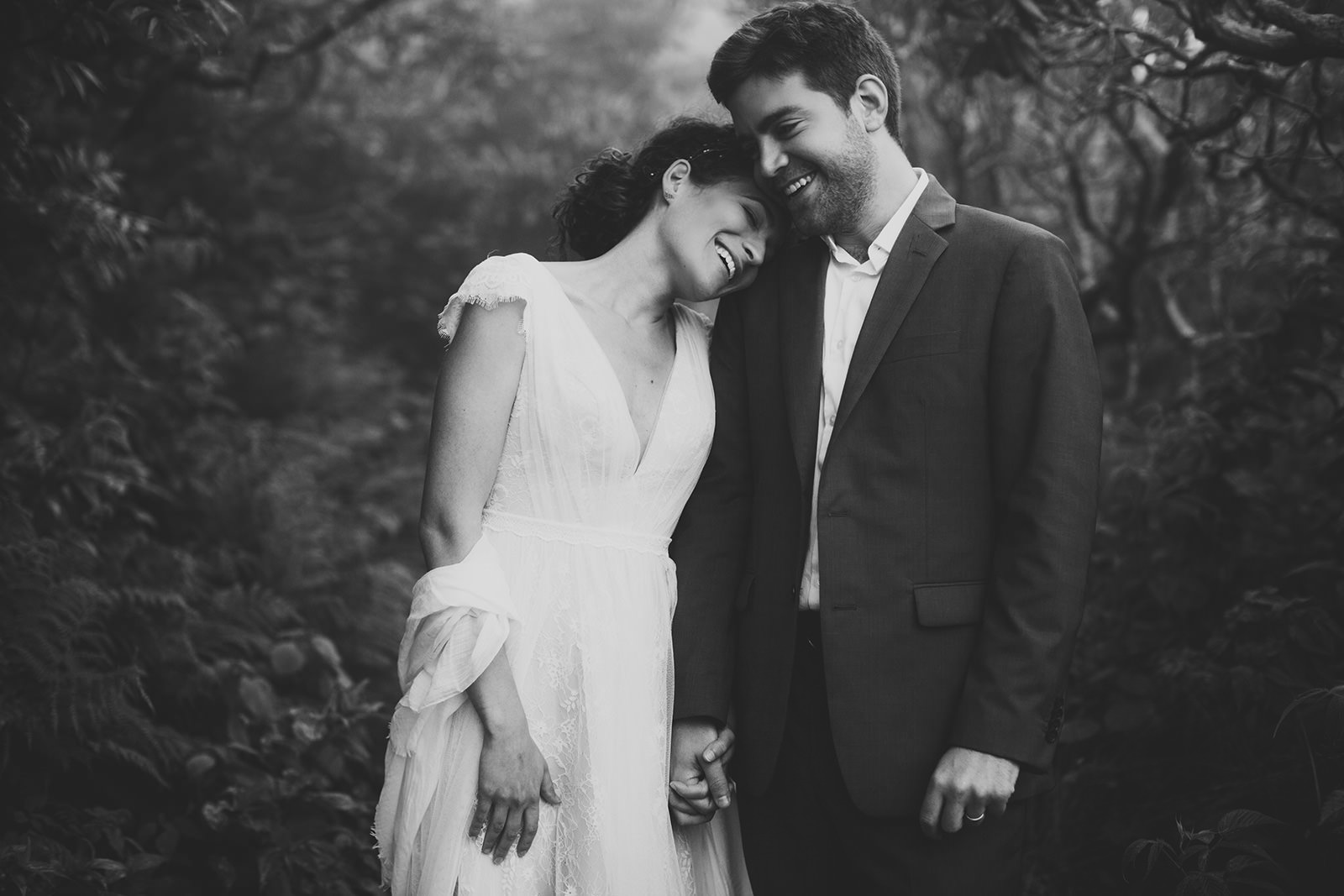 sunrise elopement asheville