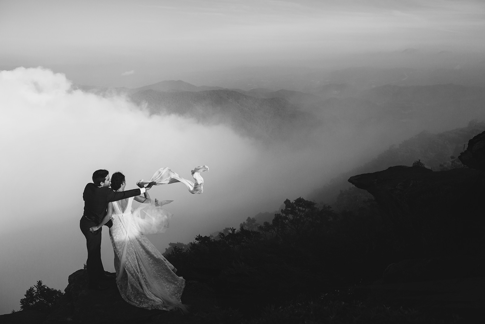 boone elopement photos