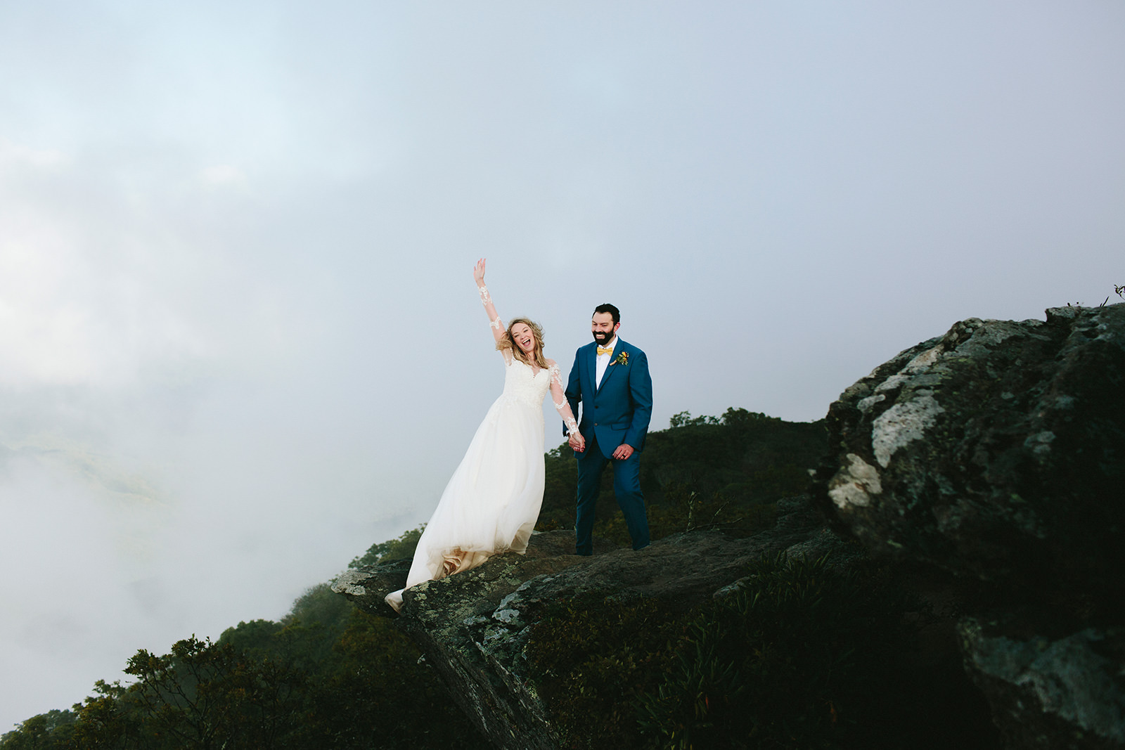 asheville nc elopement photography