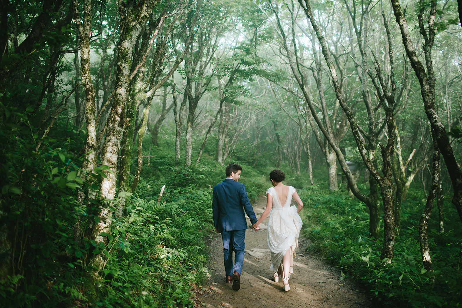 craggy gardens june elopement
